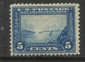 UNITED STATES  399  MINT HINGED,  GOLDEN GATE