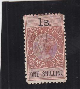 Fiji, Stamp Duty Tax, 1/S, Sc #8 (24924)