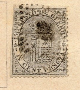 Spain 1872-73 Early Issue Fine Used 5c. NW-16571