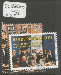 Panama SC 588a-c VFU (2cvf)