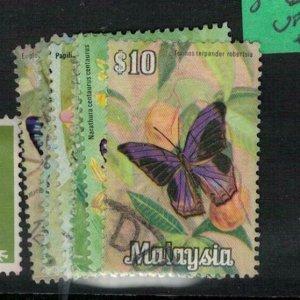 Malaysia SG 66-71 Butterfly VFU (10exb)