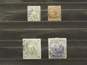 5430   Barbados   Used # 16, 65, 82, 131                   CV$ 11.00