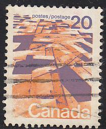 Canada 596 Hinged Used 1972 Prairies