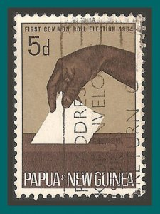 Papua New Guinea 1964 Elections, 5d used  182,SG55