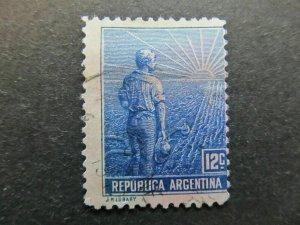 A4P29F66 Argentina 1911 12c used
