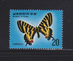 Korea 1006 MNH Insects, Butterfly