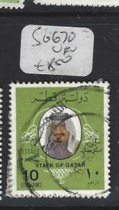 QATAR  (P0304BB)  SHEIKH  SG 670   10  DH       VFU