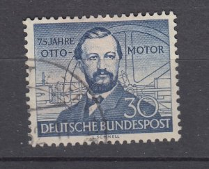 J28713, 1952 germany set of 1 used #688 otto