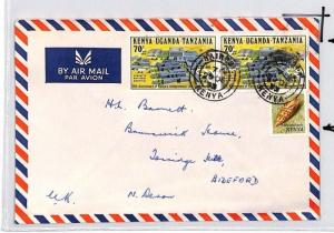 CE173 Kenya *Nairobi* 1973 KUT Stamp Air Mail Cover