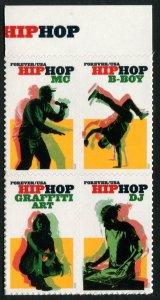 5483a US (55c) Hip Hop SA, MNH blk/4