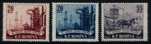 Romania 1184-6 MNH Oil Industry, Horse
