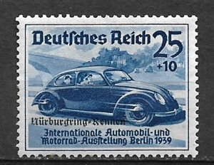 COLLECTION LOT OF #563 GERMANY # B143 MH 1939 CV = $19