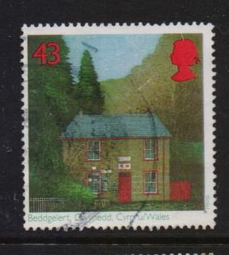 Great Britain 1997 used sub-post offices 43p.  #