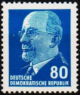 Germany(DDR). 1961 80pf S.G.E585a Unmounted Mint