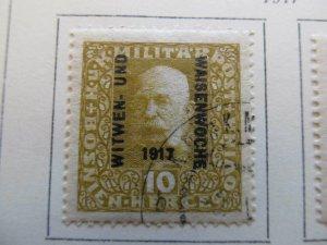 Bosnia & Herzegovina 1917 10h fine used semi-postal stamp A13P18F54
