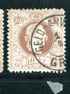 Austria  #33 used  F-  VF        Lakeshore Philatelics