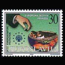 YUGOSLAVIA 2000 - Scott# 2483 Nature-Birds 30d NH
