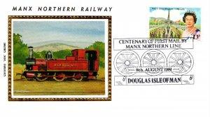 Isle of Man, Trains