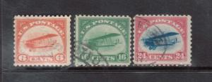 USA #C1 - #C3 Used Set