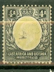 East Africa & Uganda 22 used CV $22.50
