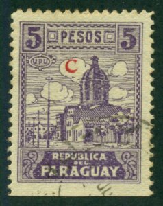 Paraguay 1936 #L30 U SCV (2018) = $0.50