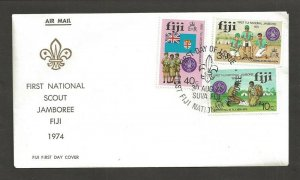 1974 Fiji Boy Scouts First National Jamboree FDC Suva