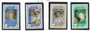 BRITISH VIRGIN ISLANDS  mnh sc 673-676