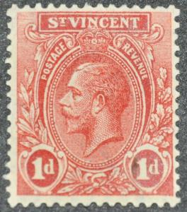 DYNAMITE Stamps: St. Vincent Scott #119 – UNUSED