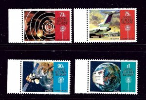 Cocos Is 162-65 MNH 1987 Communications