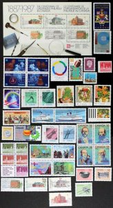 CANADA Postage Stamps, 1987 Year set collection, MNH