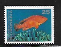 MICRONESIA, 160, MNH,  CORAL FISH