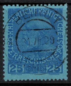 Austria-Crete  SC 22 Used 1914 SCV$ 150