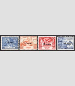 ADEN 32-35  MINT HING UPU 1949 ISSUE