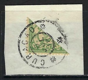 NETHERLANDS ANTILLES 49 BI-SECT ON PIECE W445