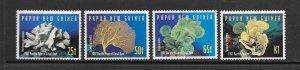 CORALS - PAPUA NEW GUINEA #924-7 MNH