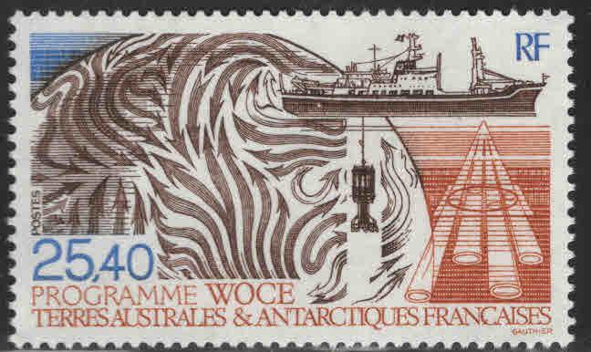 FSAT Scott 172 MNH** WOCE Program  Antarctic ship survey 1992