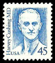 PCBstamps  US #2188 45c Dr. Harvey Cushing, bright blue, MNH, (6)