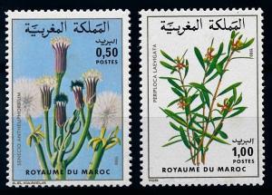 [66573] Morocco 1980 Flora Plants Pflanzen  MNH