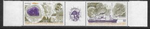 FRENCH SOUTHERN & ANTARCTIC TERRITORIES SG277a 1991 CLIMATIC RESEARCH MNH