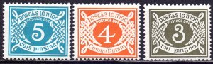 Ireland. 1978. 22-24. postage due. MNH.