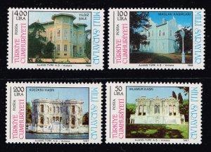 TURKEY Stamp  1987-88  Royal Pavilions MH STAMPS SET
