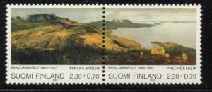 Finland Sc B248 1993 Paintings stamp set mint NH