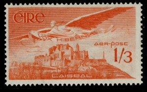 IRELAND GVI SG143a, 1s 3d red-orange, M MINT.