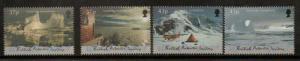 BRITISH ANTARCTIC TERR. SG315/8 2000 ANTARCTIC SYMPHONY MNH