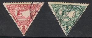 AUSTRIA 1916 ISSUES OF THE MONARCHY
