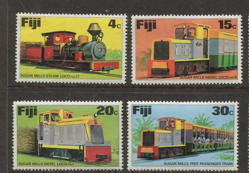 Fiji - Scott 361-364 - General Issue 1975 - MNH - Set of 4 Stamps