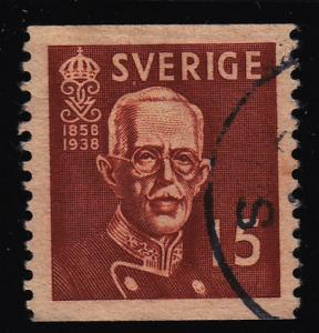 Sweden 276 King Gustaf V 1938