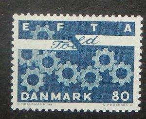 Denmark 431a. 1967 Free Trade Association, fluorescent paper, NH