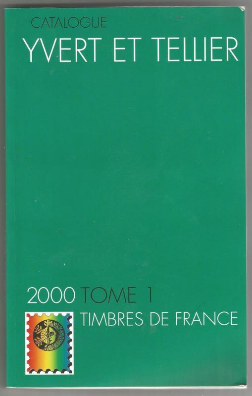 2000 edition of FRANCE catalogue by Yvert & Tellier