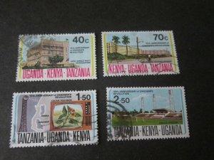 Kenya Uganda Tanganyika 1974 Sc 280-3 set FU
